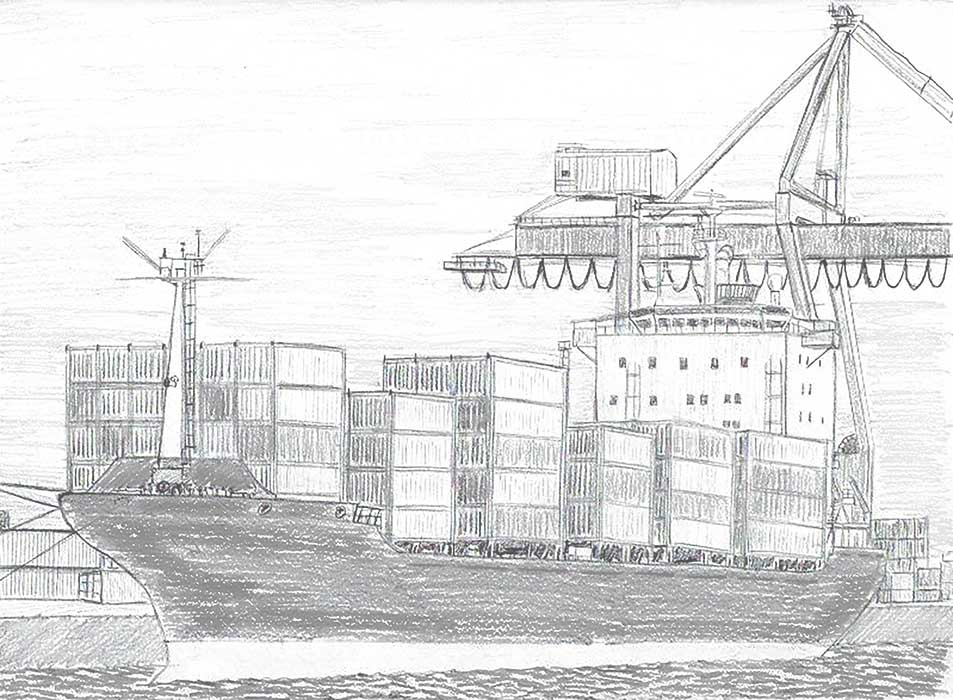 SHIPPING OF SEA CONTAINERS